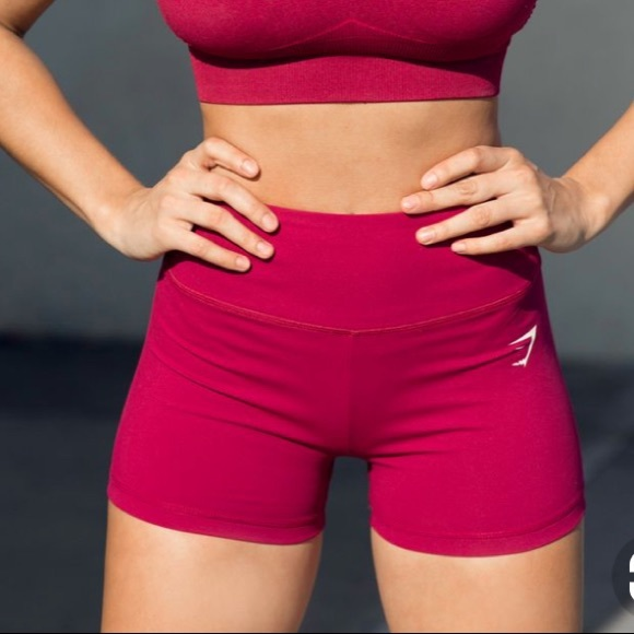 top-rated cheap large discount low priced Gymshark Dreamy high waisted shorts NWT